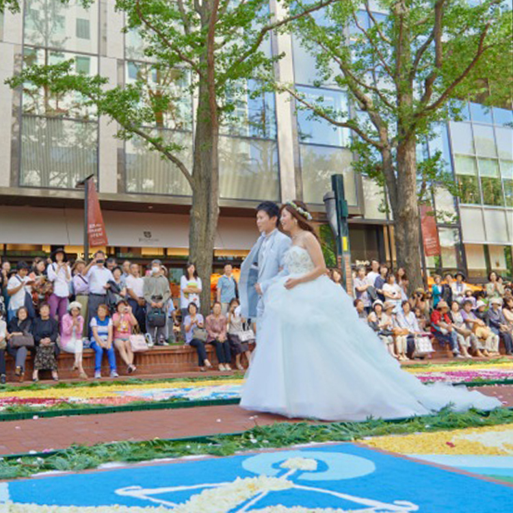 SAPPORO FLOWER CARPET WEDDING 2014